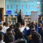 Famous Author Visits School